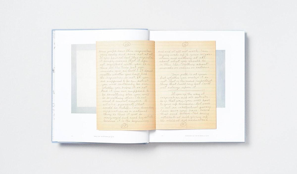 Agnes Martin: Paintings, Writings, Remembrances