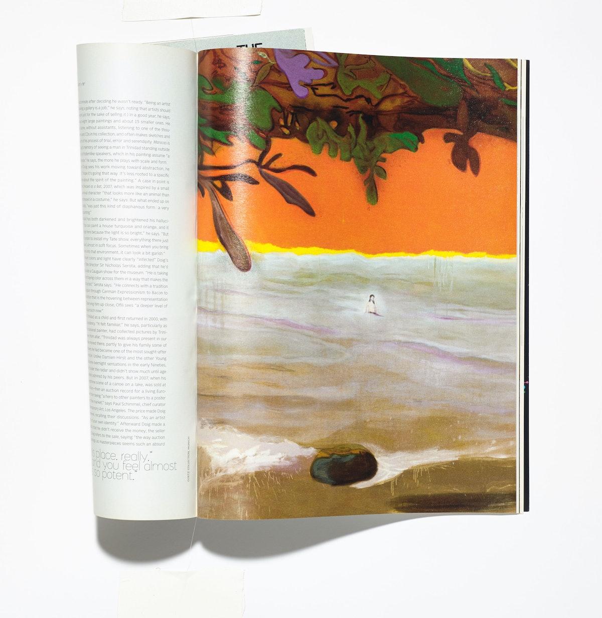 Peter Doig, Art Issue,