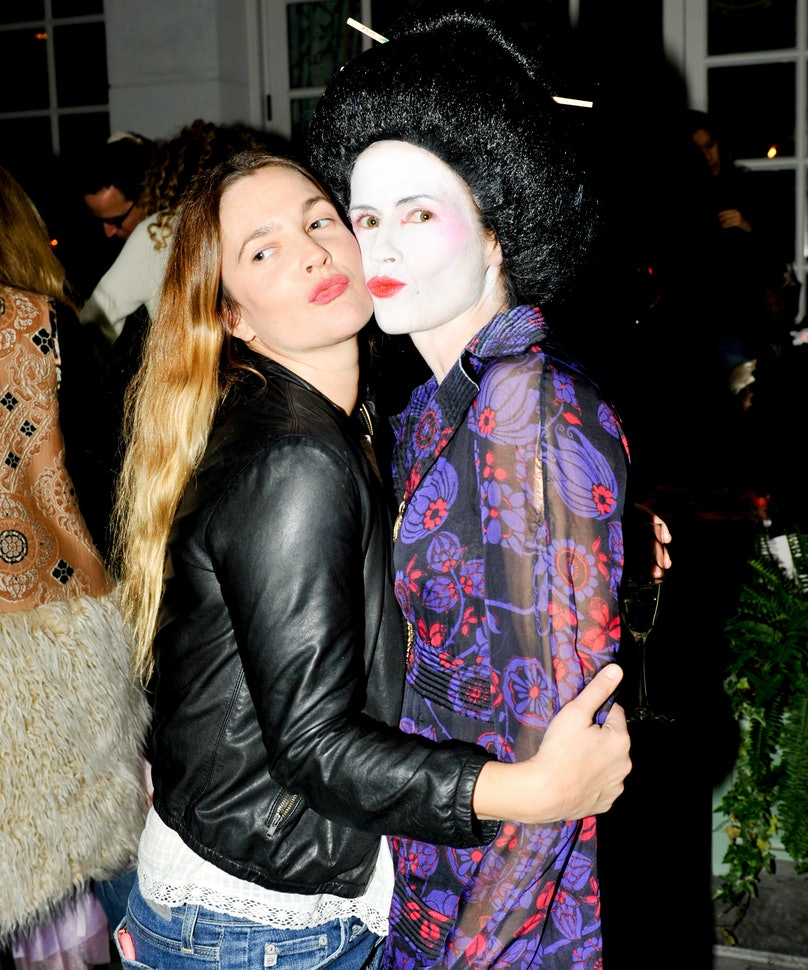 Drew Barrymore and Gucci Westman