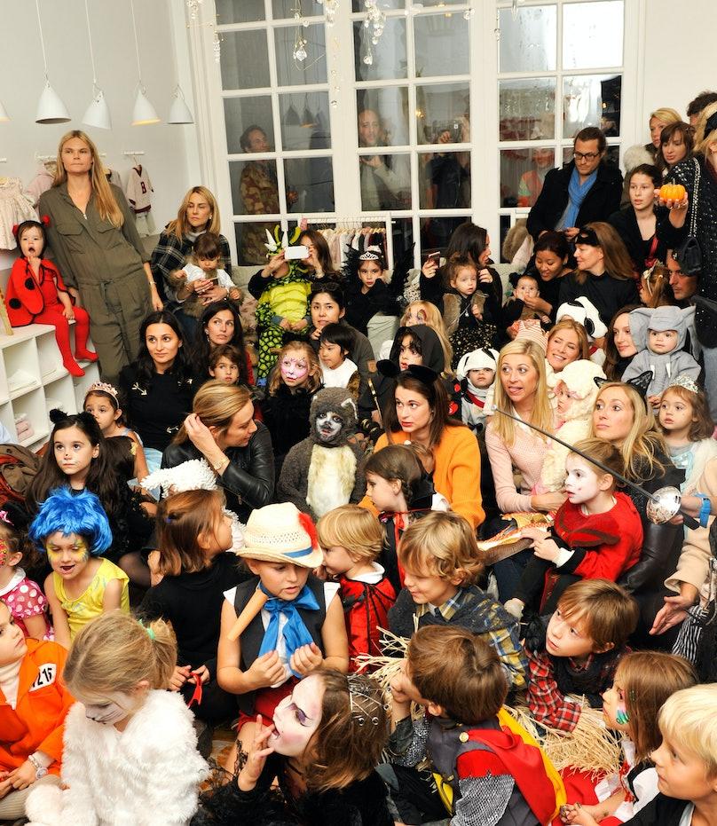 The Bonpoint and Laudurée party