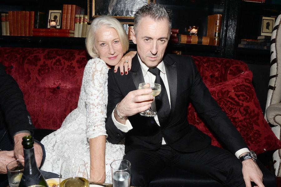 Helen Mirren and Alan Cumming