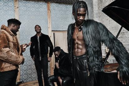 Boy Band Inspired Menswear