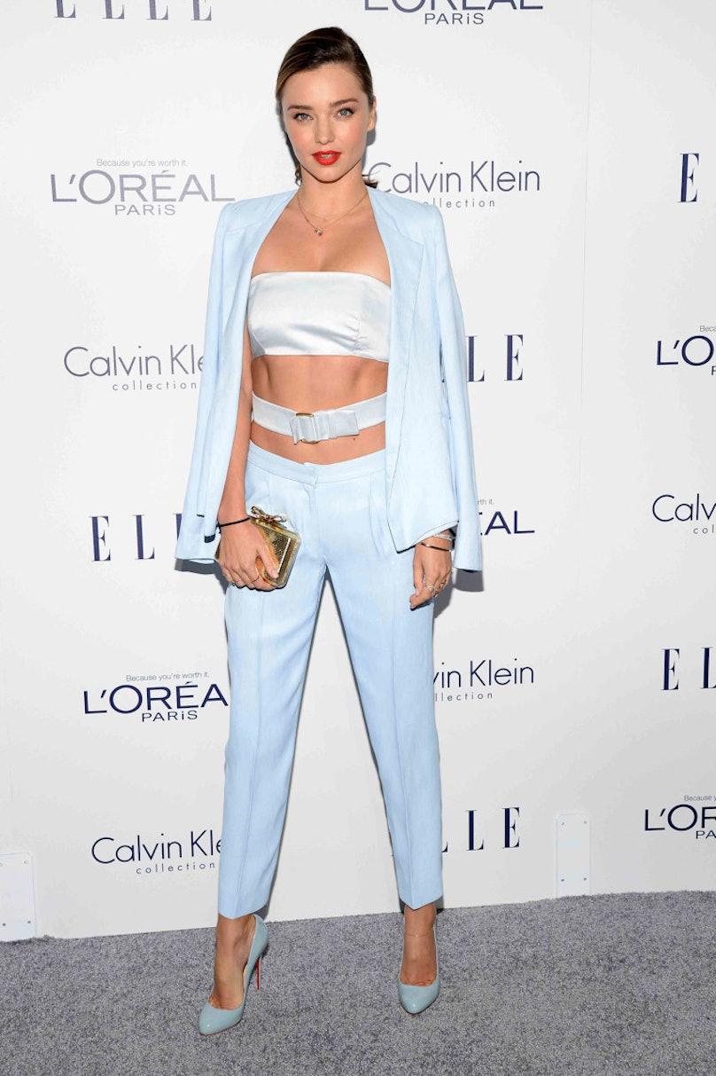 Miranda Kerr in Calvin Klein Collection