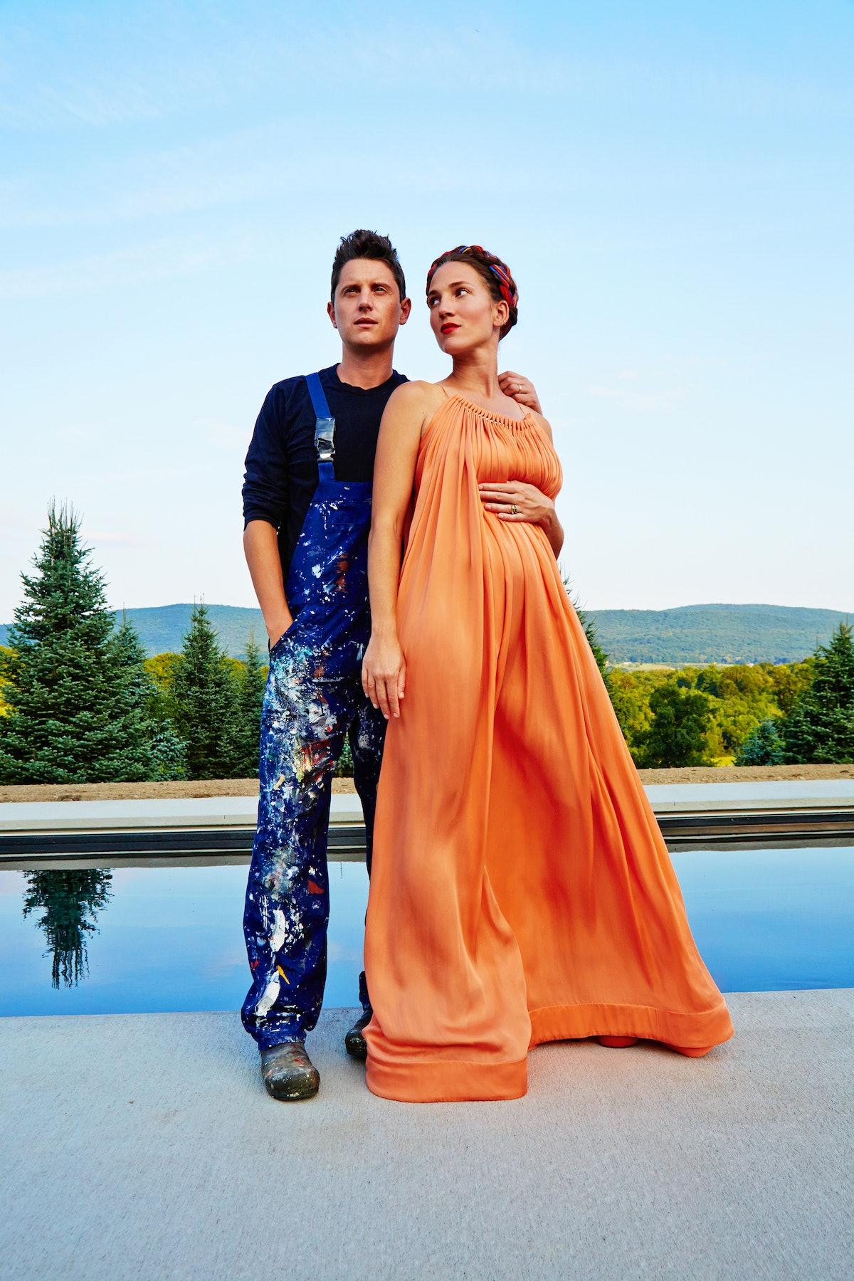 Garth Weiser and Francesca DiMattio