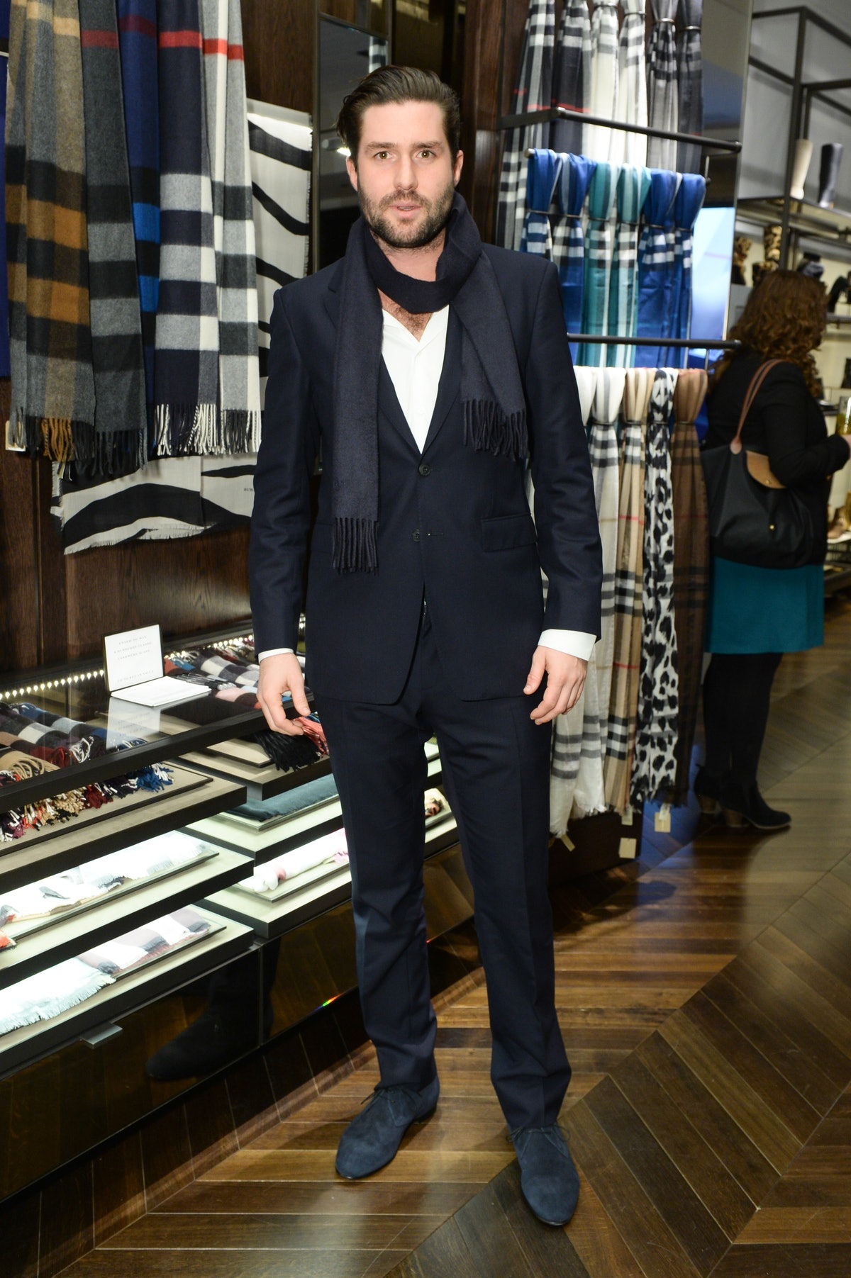 BURBERRY CELEBRATES: THE OPENING OF ITS NEW SOHO STORE HOSTED BY CHELSEA LEYLAND, LEIGH LEZARK, HARLEY VIERA NEWTON & PHIL WINSER