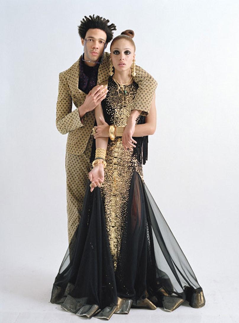 Metallic Fall Fashion