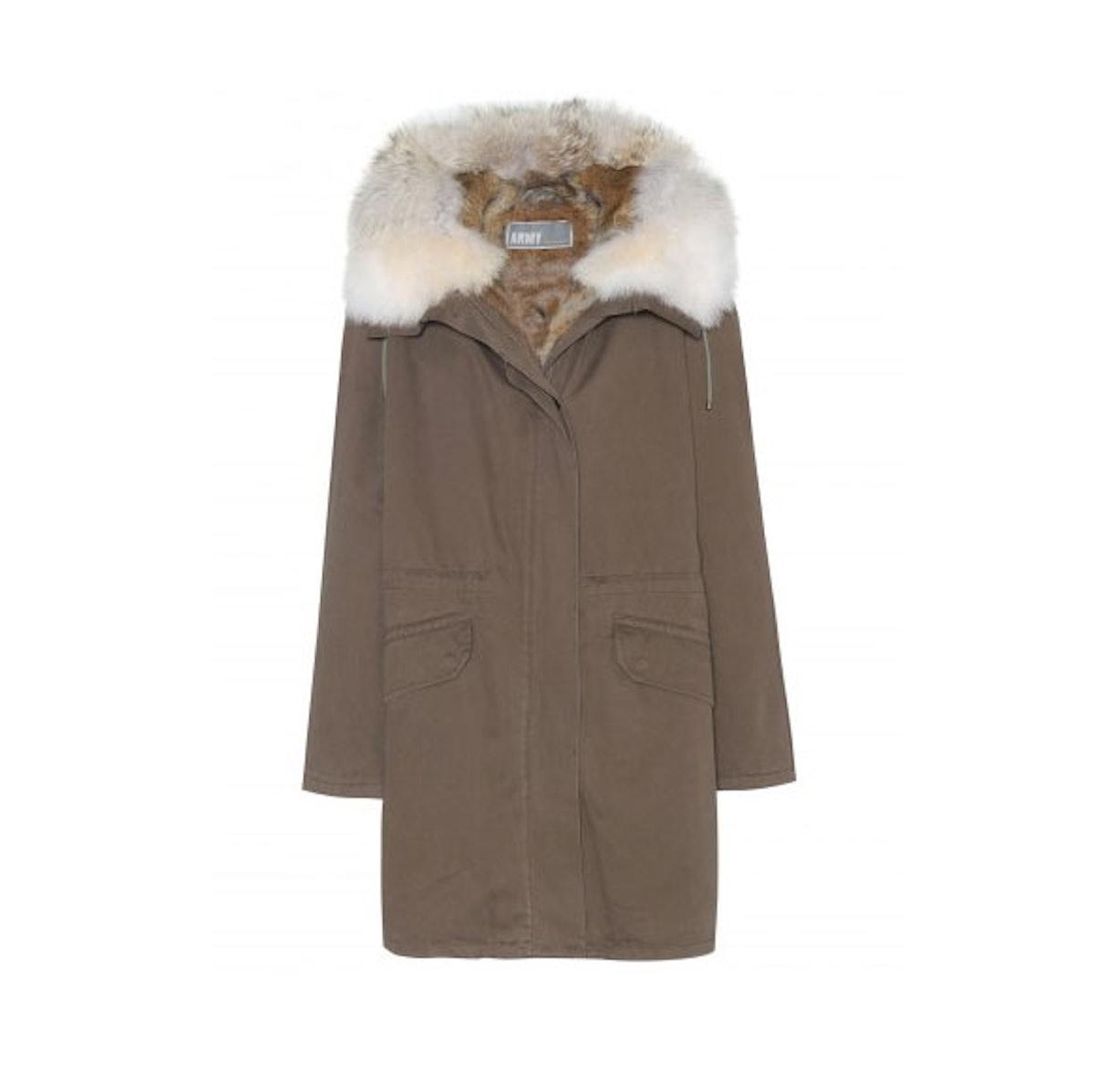 Army by Yves Salomon coat