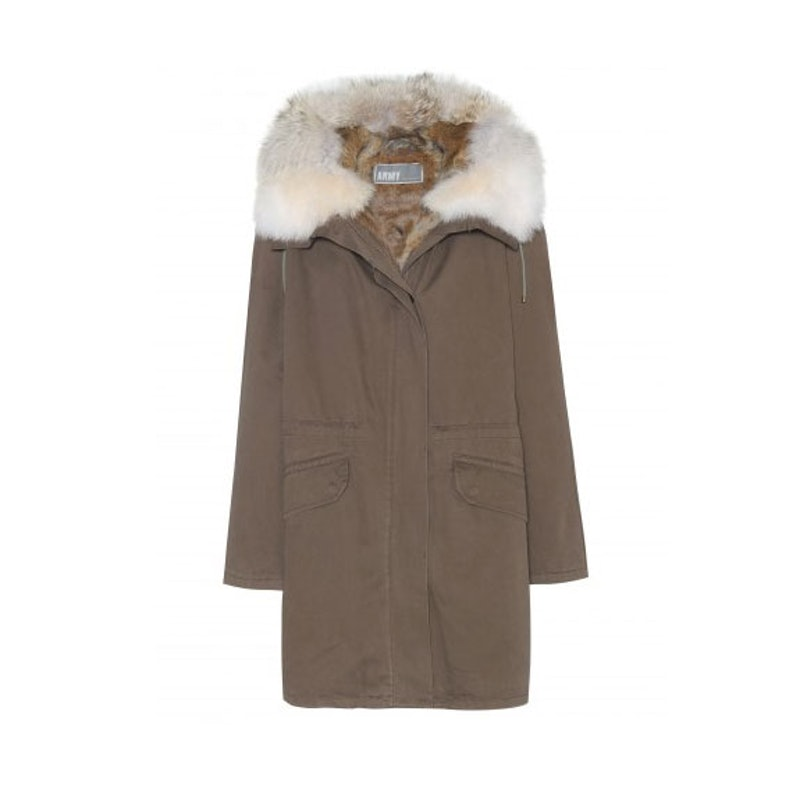Army by Yves Salomon coat