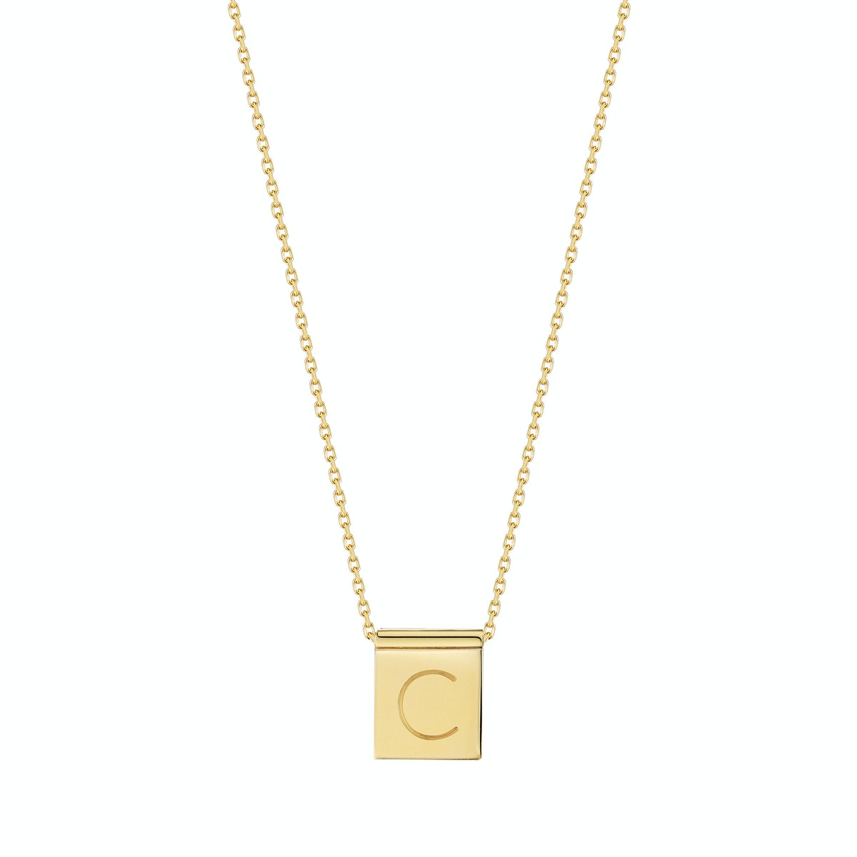 MO by Finn engraved necklace
