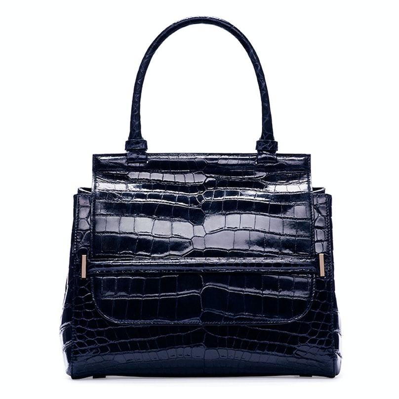 The Row Top-Handle 10 Crocodile Bag