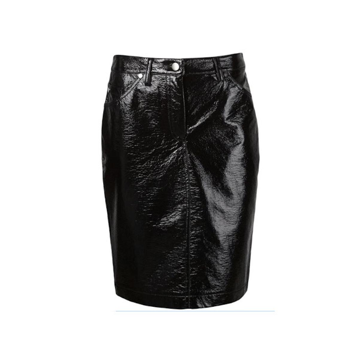 Wanda Nylon skirt
