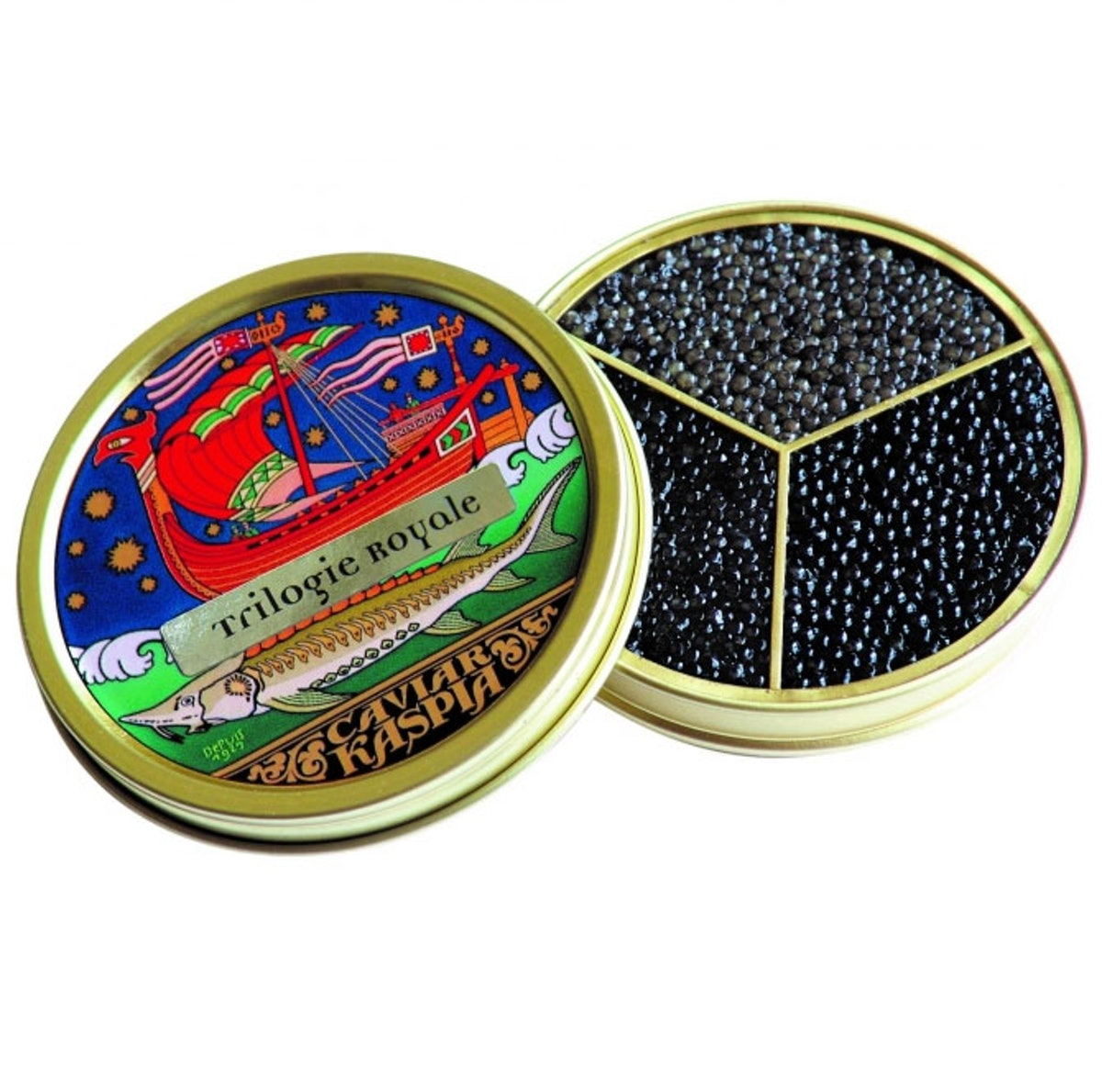 Caviar Kaspia Royal Trilogy