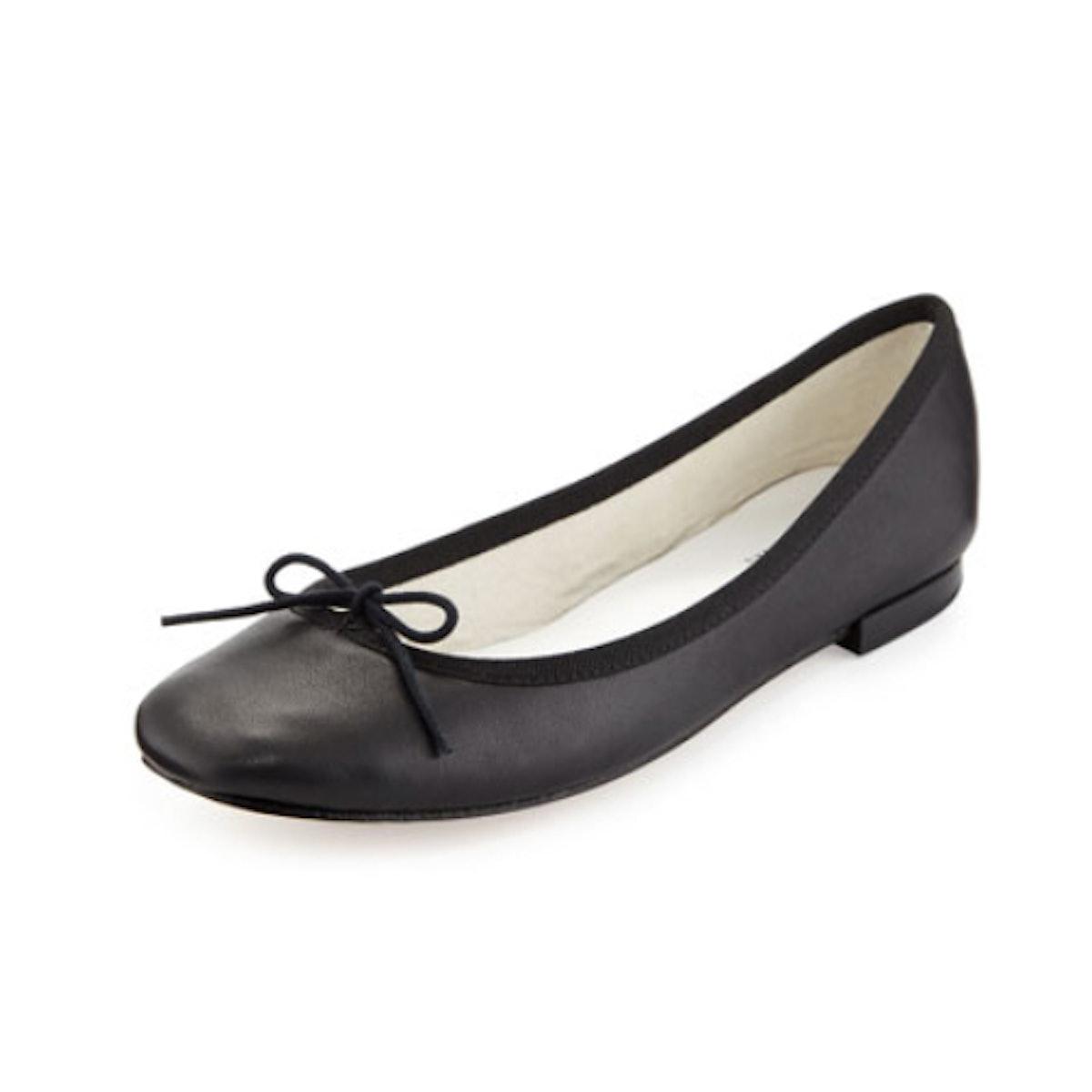 Repetto Cendrilon Leather Ballerina Flat