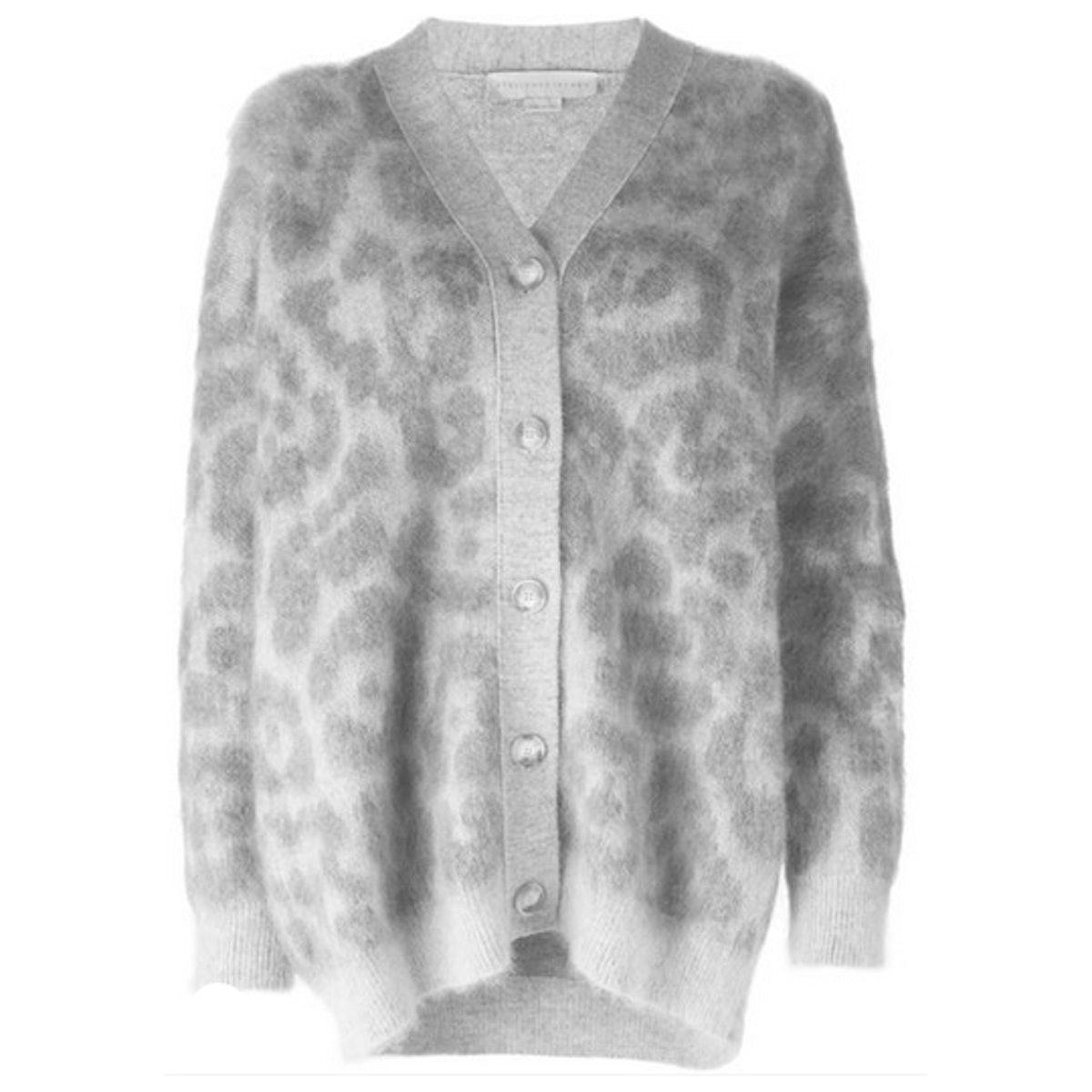 Stella McCartney leopard cardigan