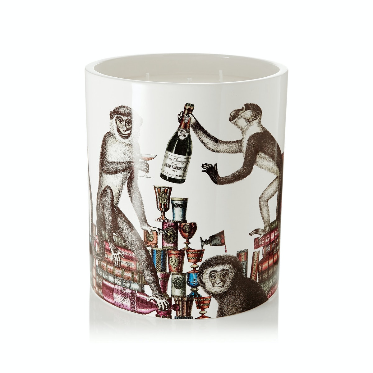 Fornasetti Scimmie Thyme, Lavendar and Cedarwood Candle
