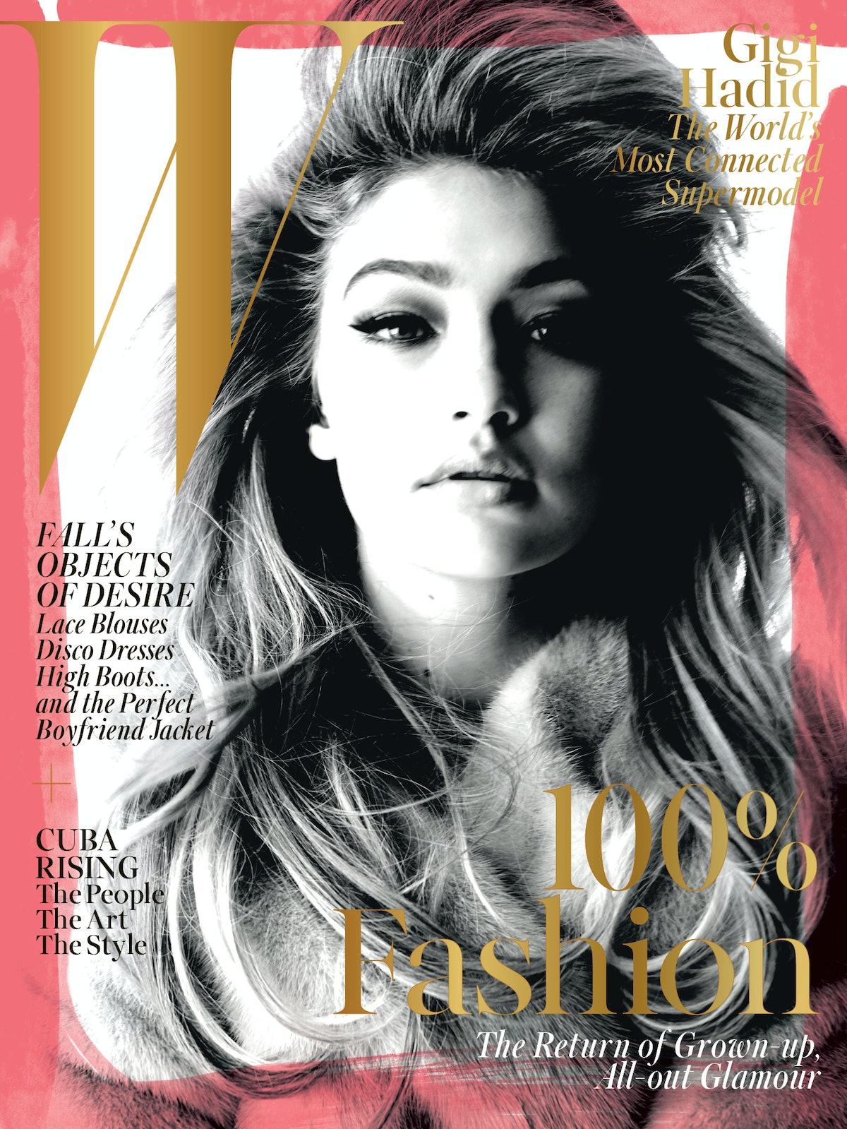 W magazine September 2015