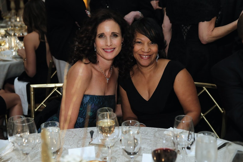 Andie MacDowell and Schinnell Leake