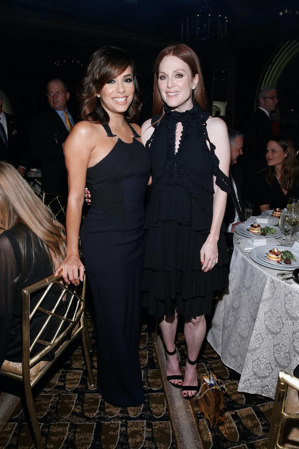 Eva Longoria and Julianne Moore