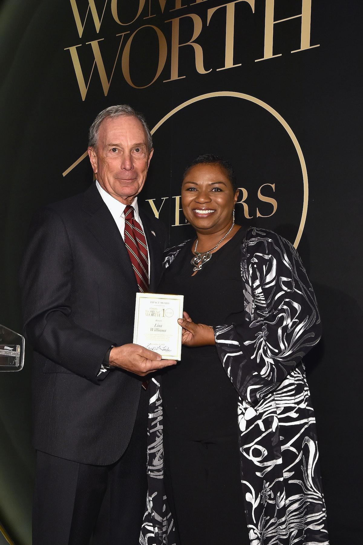Michael Bloomberg and Lisa C. Williams