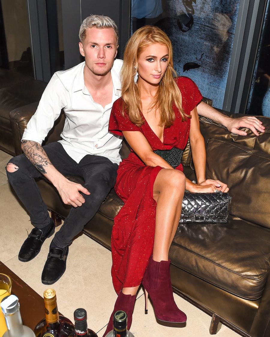 Barron Hilton and Paris Hilton