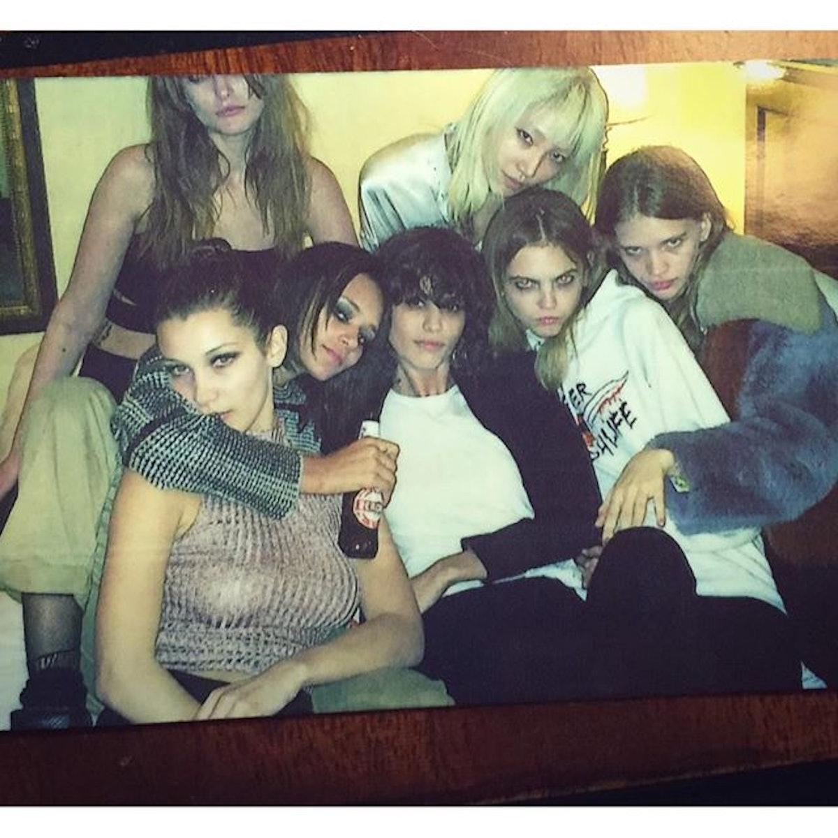 Chanel Models in Rome sooj mooj