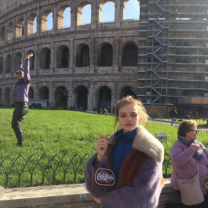 molly bair Chanel Models in Rome