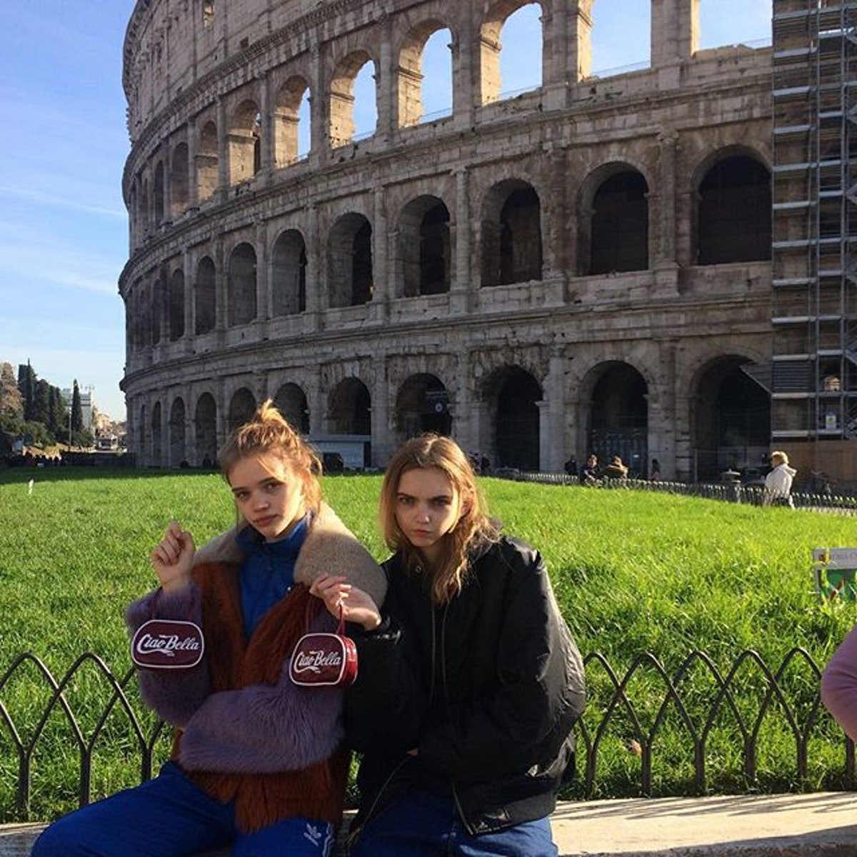 Chanel Models in Rome