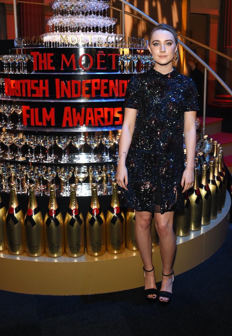 Saoirse Ronan in Burberry