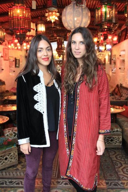 Dana Alikhani and Tatiana Santo Domingo