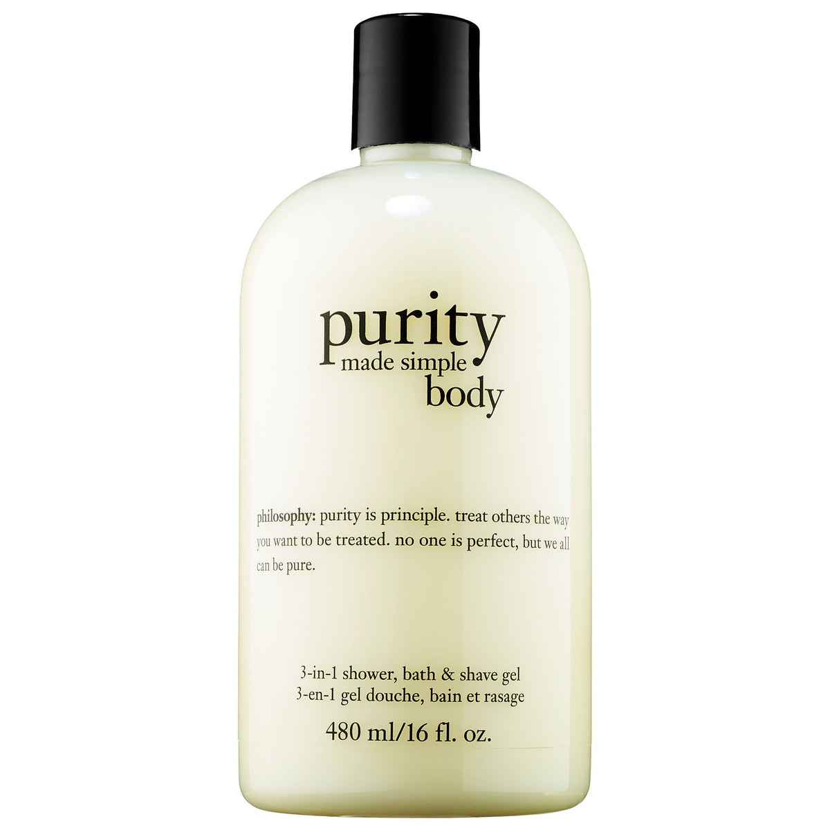 Purity 3-in-1 Shower, Bath & Shave Gel
