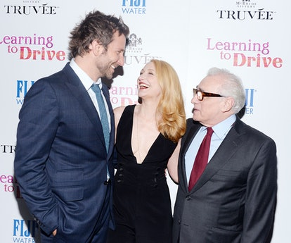 Bradley Cooper, Patricia Clarkson, and Martin Scorsese