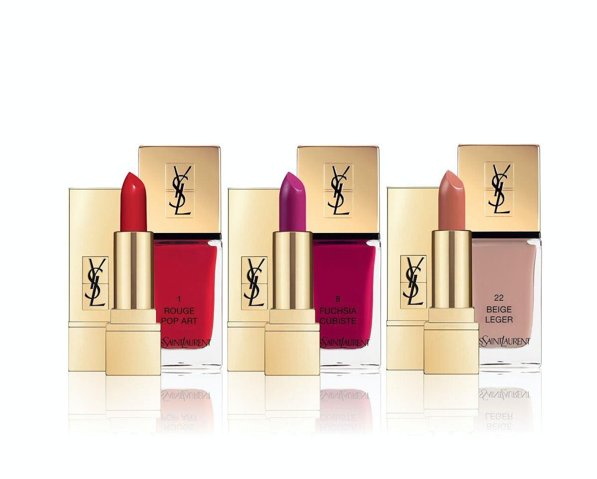 YSL Three-Piece Kiss and Love Mini Lipstick Set