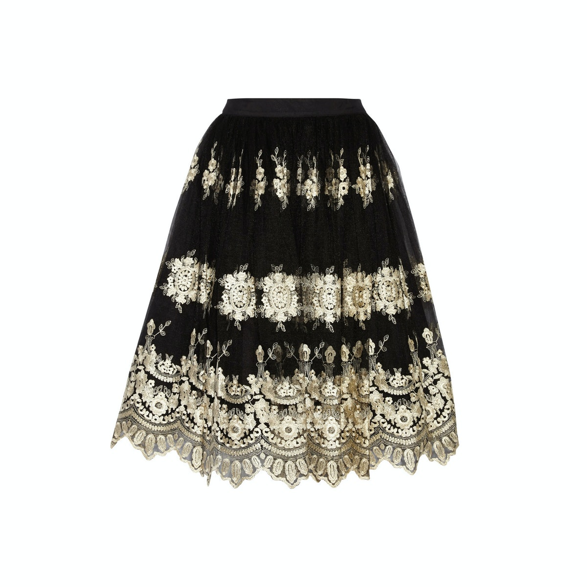 Alice & Olivia skirt, $550, netaporter.com.