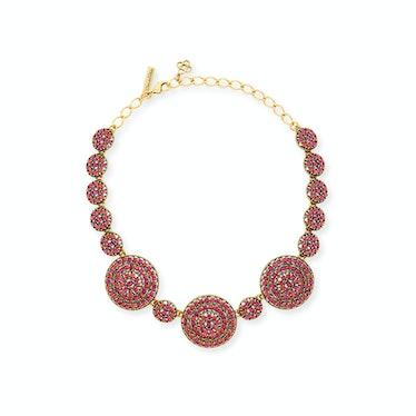 Oscar de la Renta necklace, $745, neimanmarcus.com