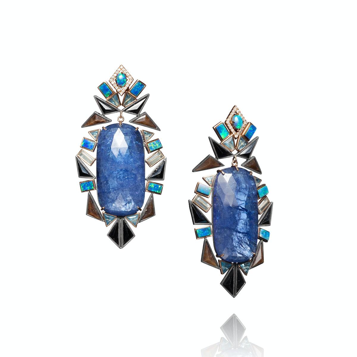 Anthony-Nak-Boulder-opal-earrings,-$21,550,-barneys.com
