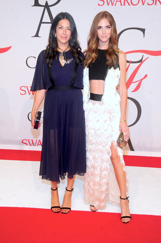 Rebecca Minkoff and Chiara Ferragni