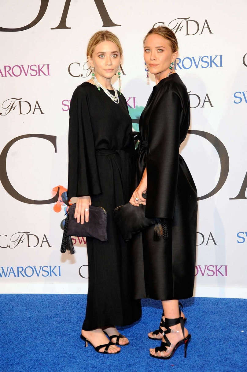 Mary Kate and Ashley Olsen in The Row