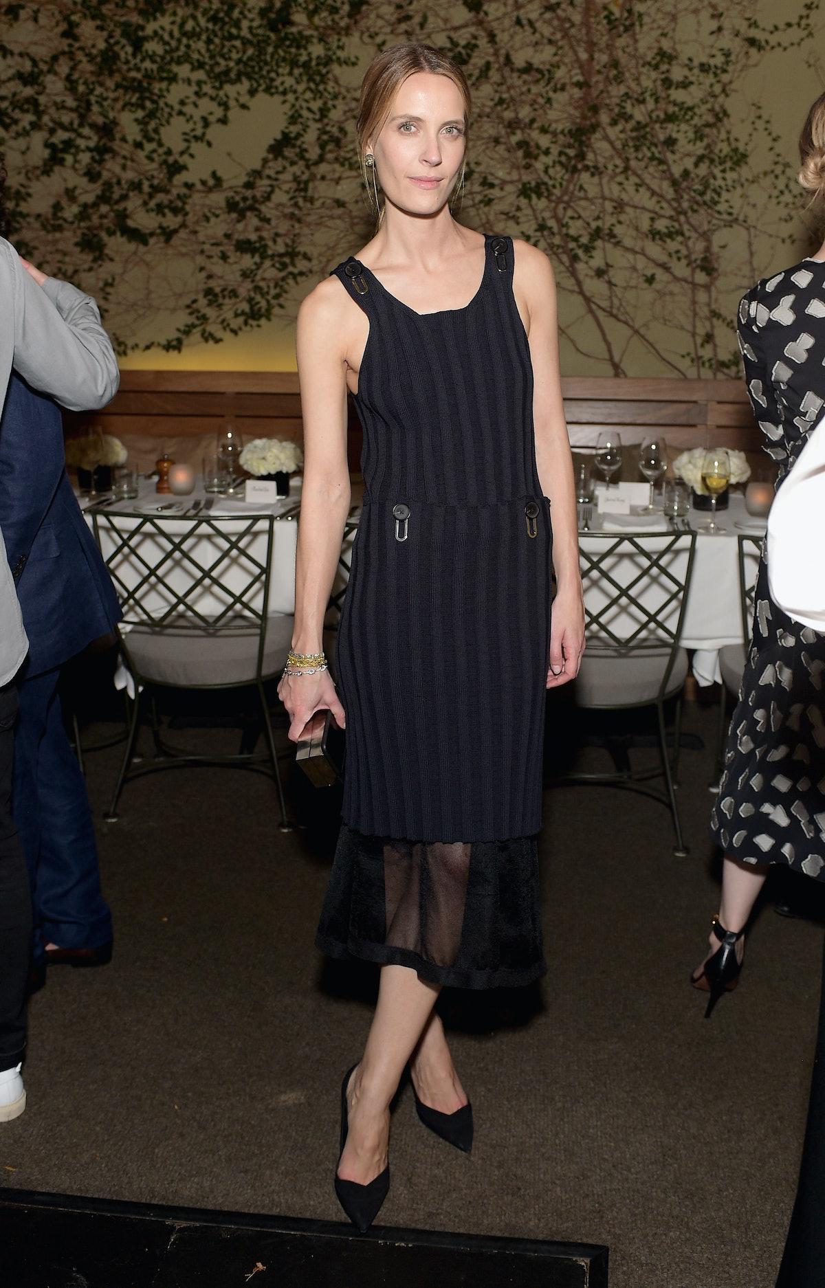 Vanessa Traina in Calvin Klein