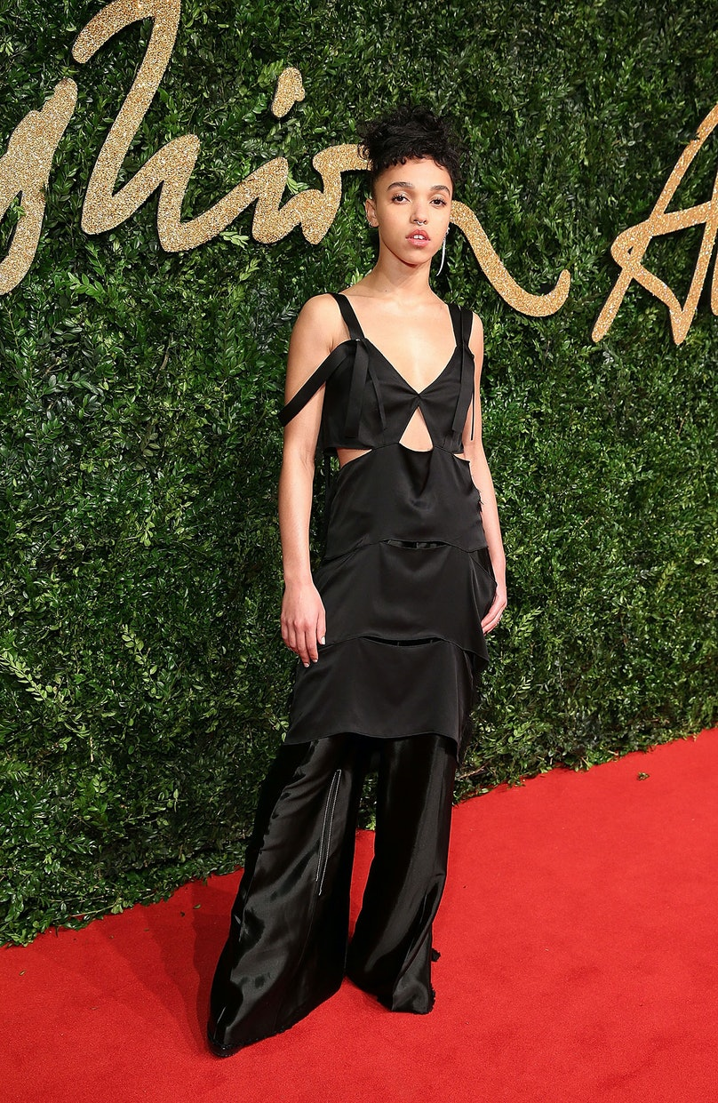 FKA Twigs in Calvin Klein Collection