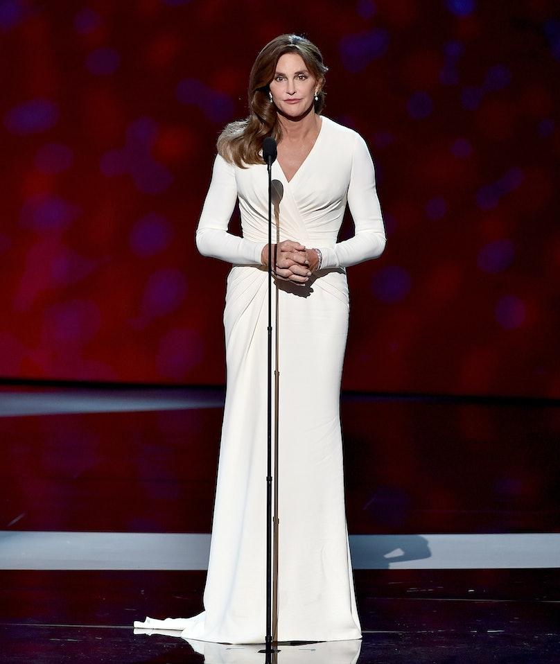 Caitlyn Jenner in Atelier Versace