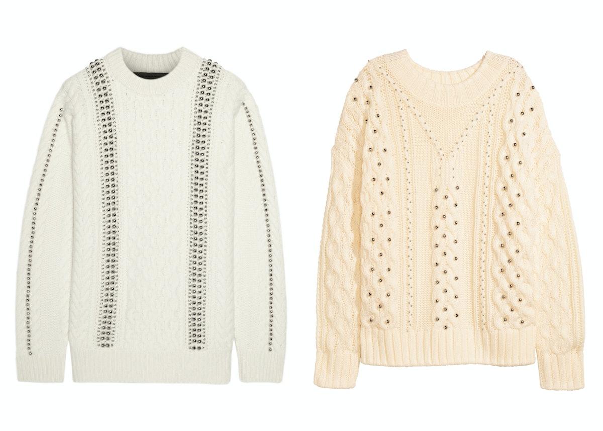 Alexander Wang Embellished Sweater