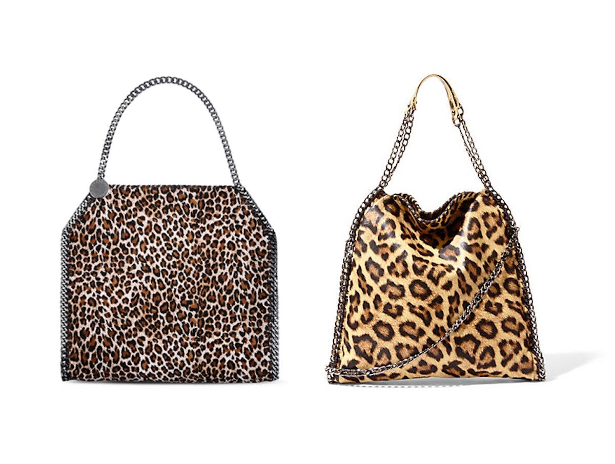 Stella McCartney Falabella Eco Leopard Print Small Tote
