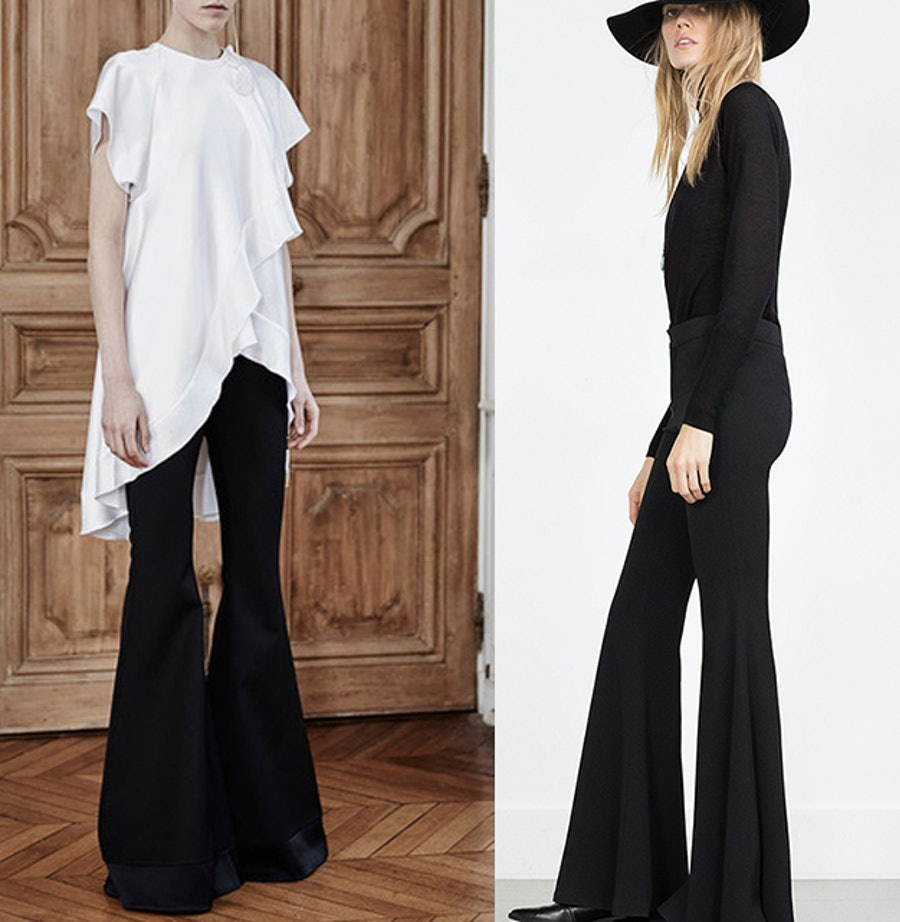 Ellery Expressionism Wide Flared Pant,