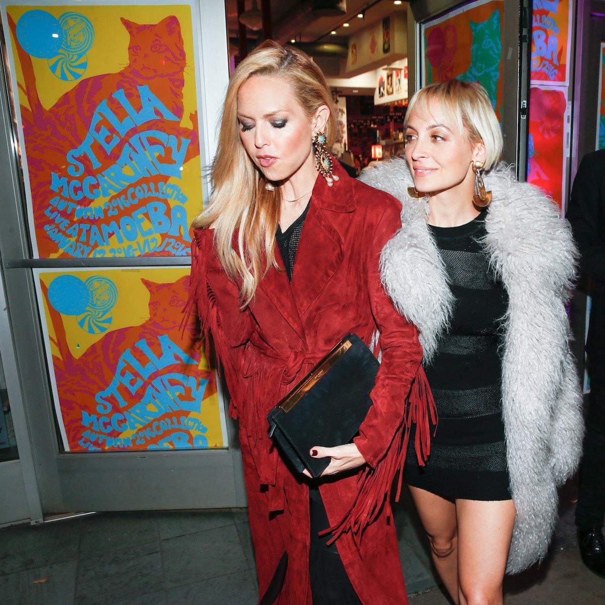 Rachel Zoe and Nicole Richie