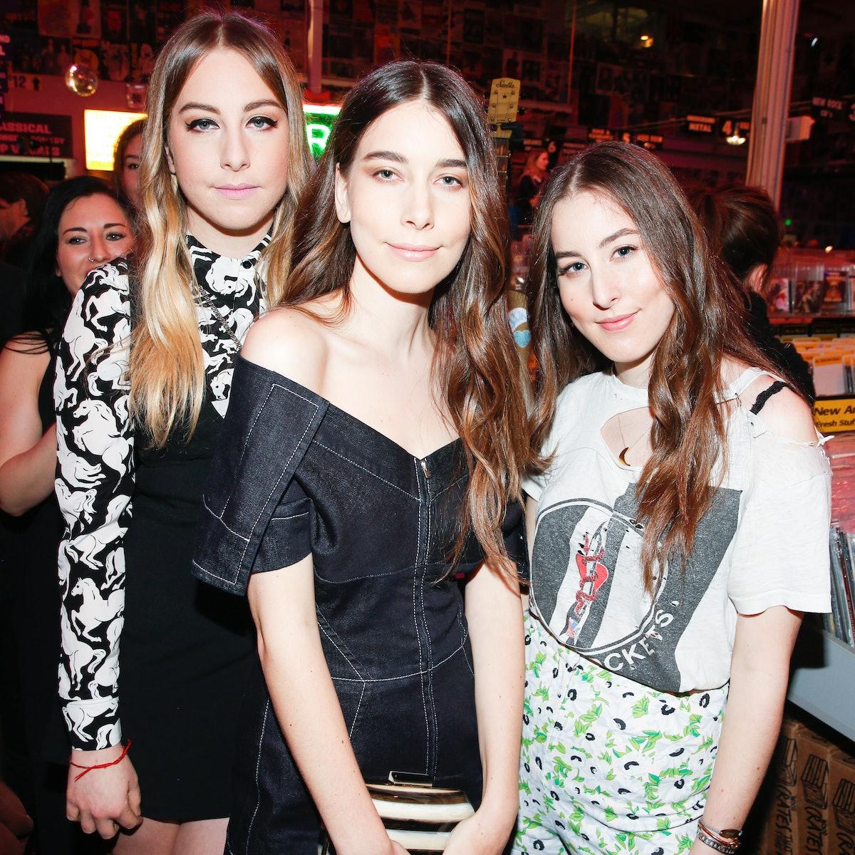 Alana Haim, Danielle Haim, and Este Haim