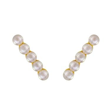 Stella Valle earrings, $195, stellavalle.com