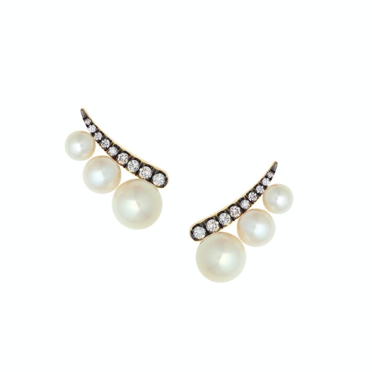 Jemma Wynne earrings, $2,940, bergdorfgoodman