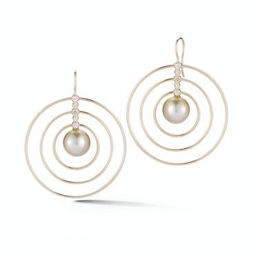 Mizuki earrings, $4,290, bergdorfgoodman.com.