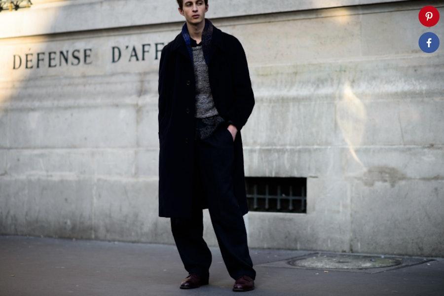 Paris Men's Fall 2016 Fashion Week inspiration