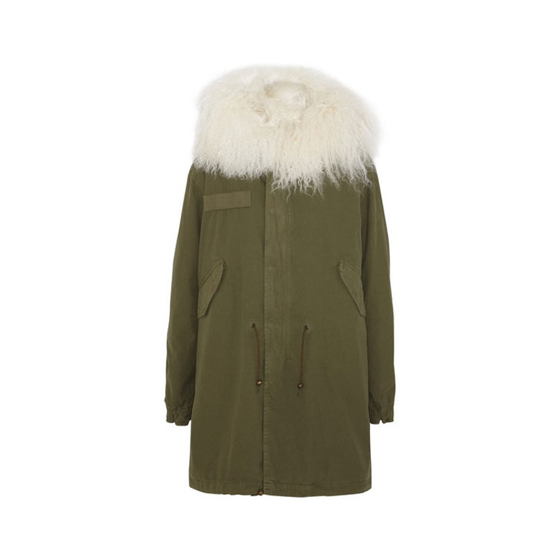 Mr-and-Mrs-Italy---Shearling-lined-cotton-parka